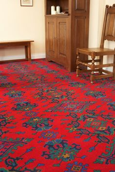 Axminster Carpets - Turkey in Red Parker Knoll, Axminster Carpets, Traditional, Rugs, Bristol, Projects, Turkey, Design, Home Decor