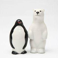 Magnetic Salt and Pepper Shaker - Polar Opposites by Attractives. $11.99