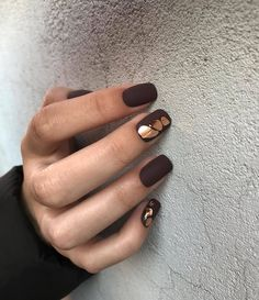 Simple Matte Short Nail Art Designs To Try This Fall - Nail Art Connect fallnailart Short Nails Art, Body Is A Temple, Fall Nail Art, Mix Style, Minimalist Nails, Stylish Nails, Matte Nails, Manicure And Pedicure, Nail Inspo