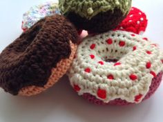 Crochet Donuts for Playtime!