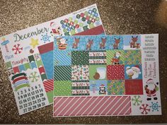 Happy Planner Monthly View-Christmas, December : Large Happy Planner, Classic Happy Planner, Erin Condren Life Planner by TiaTori on Etsy https://www.etsy.com/listing/476074320/happy-planner-monthly-view-christmas