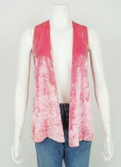 60's Velvet Vest