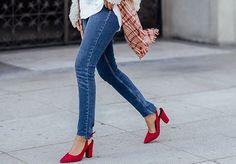 Red heels. Yes, please!