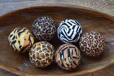 Decorative Balls For Bowl Christmas Decorative Fabric Rag Balls Chotchkies Fabric Balls