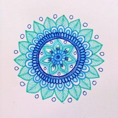 MagaMerlina: Another Mehndi Inspired Mandala Tutorial... * FABuLous