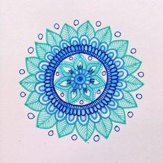MagaMerlina: Another Mehndi Inspired Mandala Tutorial... * FABuLous