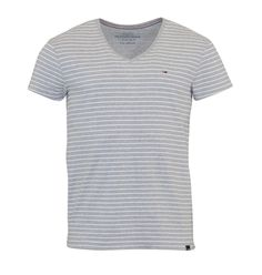 Hilfiger Denim Cuba Strip Grey Hilfiger Denim, Cuba, Menswear, Grey, Mens Tops, T Shirt, Clothes, Shopping, Women