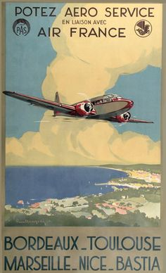 1000 images about planes art ads on pinterest flying boat air france and vintage airline - Comptoir air france toulouse ...