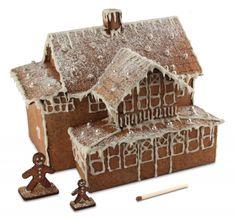Laser-Cut Gingerbread House