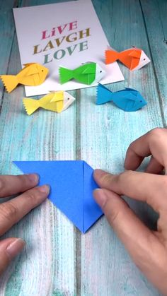 Cool Paper Crafts, Paper Crafts Origami, Diy Origami, Origami Tutorial, Diy Arts And Crafts, Hobbies And Crafts, Creative Crafts, Diy Crafts, Origami And Quilling