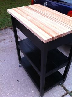 DIY Kitchen Cart - Imgur