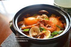韓式海鮮嫩豆腐湯, 해물순두부食譜、作法 | 韓國餐桌的多多開伙食譜分享