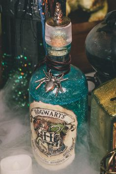 DYI Harry Potter Potions for Halloween: Hogwarts Potion - Scrapbook.com