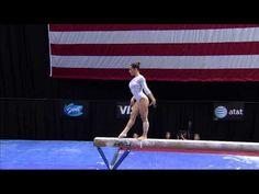 ▶ Alicia Sacramone - Beam - 2012 Visa Championships - Sr. Women - Day 2 - YouTube