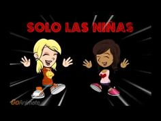 "Short animated Spanish movement video, ""Todos los ninos a bailar;"" for a quick brain break in a Spanish classroom"