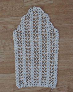 crochet arm..