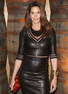"""""""I don't feel young anymore. There are great things that come with being older: You feel more comfortable in your own skin....I'm more accepting,"""" said Cindy Crawford, 48."""