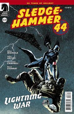 Review - Sledgehammer 44: Lightning War #3 (of 3) (Dark Horse)