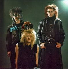 Skinny Puppy - Doing hair right.