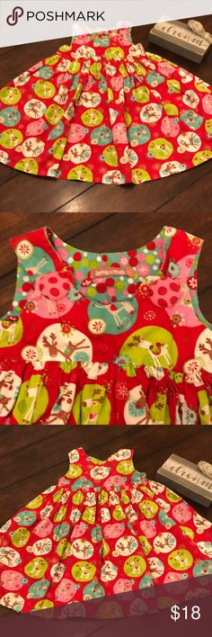 3510d71dc Jelly the pug dress Cute Jelly the pug reindeer holiday dress Size 6 EUC No  stains or holes Smoke free home Bundle to save Jelly The Pug Dresses