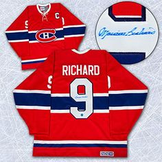 Maurice Rocket Richard Montreal Canadiens Autographed Retro CCM Hockey Jersey -- Be sure to check out this awesome product.