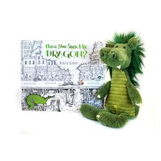 Have You Seen My Dragon Set. Make story time irresistible. This plush Dragon pairs perfectly with the wonderful book Have You Seen My Dragon?  Enter a fascinating, ornately drawn cityscape and help a boy find his dragon while counting objects from hot dogs to traffic lights.  In the heart of the city, among the taxis and towers, a small boy travels uptown and down, searching for his friend. Readers will certainly spot the glorious beast, plus an array of big-city icons they can count. Is the…