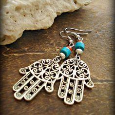 Items similar to Boho Earrings - Boho Jewellery - Gypsy Earrings - Hippie Earrings - Hippie Gypsy Earrings - Bohemian Earrings on Etsy Bohemian Jewellery, Hippie Jewelry, Diy Hippie Earrings, Jewellery Box, Skull Jewelry, Tribal Jewelry, Handmade Bracelets, Earrings Handmade, Handmade Jewelry