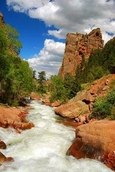 Eldorado Canyon, Colorado Right in my back yard, well almost. Yay Colorado!