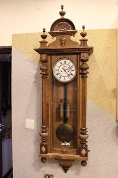 Gustav Becker ścienny zegar