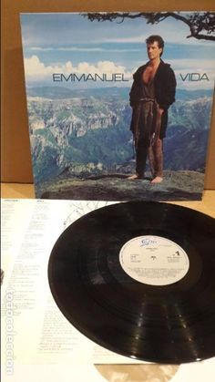 EMMANUEL. VIDA. LP / EPIC - 1992 / BC. ***/** LEVES MARCAS