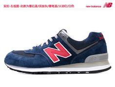 2013 nuevos zapatos auténticos retro de los hombres ocasionales de los zapatos corrientes ML574 Gigantes NewBalance