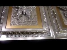 DIY - DOLLAR TREE BLING WALL ART * Featuring Beverly's Beautiful Butterflies - YouTube
