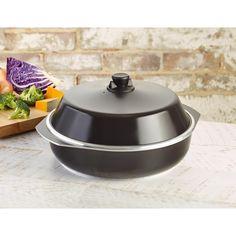 Bessemer Aluminium Oven Baking Dish Pan w Lid 37cm | Buy Bakeware