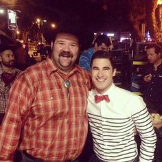 RT @joshua_C_Parker: Here is a pic of me and @darrencriss.  He was so funny, nice…