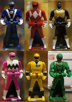 power rangers super megaforce | Why are Power Rangers Super Megaforce Ranger Keys Small?