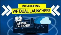 WP Dual Launcher Plugin  5 WP Plugins Bonus Package