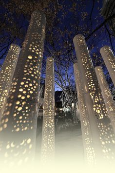 All sizes | bamboo lights at Omotesando | Flickr - Photo Sharing!