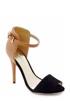 Vegan:  Black Walnut Heel, #ModCloth // @dressmeSue