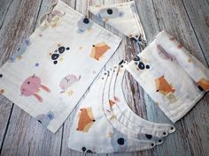 Muslin Pouch Set, 9pcs Muslin Wrap, Single Layer Swaddle Blanket, Baby Bib, Baby Shower Gift Set, Baby Cloth Wipes, Stroller Cover, Gauze First Birthday Outfits, 3rd Birthday Parties, 2nd Birthday, Stroller Cover, Baby Girl Photos, Muslin Fabric, Breastfeeding Tips, Waterproof Fabric, Swaddle Blanket