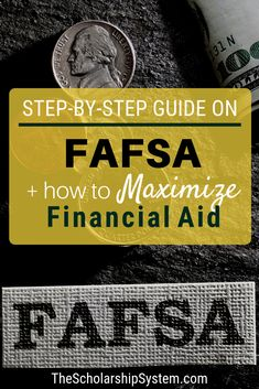 In the world of financial aid, the Federal Application for Federal Student Aid (FAFSA) is king. So, what is the FAFSA? It is a critical set of forms that determine whether a student is eligible for federal grants and loans, and is used by schools during t Grants For College, Financial Aid For College, College Fund, College Planning, College Admission, Scholarships For College, College Hacks, Education College, College Students