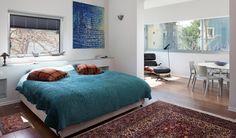 אייל רובננקו, חדר שינה  (צילום: lessismore)