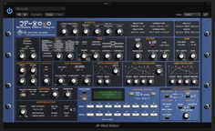 JP-80x0 AudioUnit & VSTi GUI - http://www.mysteryislands-music.com/?portfolio=music-sounds-plug-ins-and-graphical-design