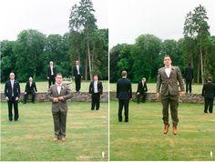 fun groomsmen shot