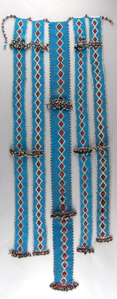 South Africa | Personal ornament; glass beads and cotton | Possibly from the Xhosa people | ca. 1954 or earlier