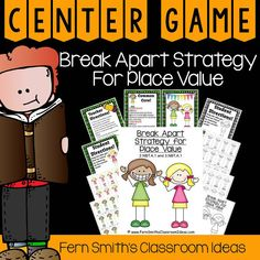 Grade Go Math Rounding to Estimate Sums Center Game and Printables 5th Grade Teachers, 5th Grade Classroom, Third Grade Math, Fourth Grade, Classroom Ideas, Math Rotations, Math Centers, Go Math, Place Values