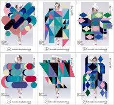 東京コレクションのキービジュアル発表 アートディレクターの長嶋りかこ起用 | 財経新聞 Poster Design Layout, Creative Poster Design, Ads Creative, Creative Posters, Graphic Design Posters, Brochure Design, Graphic Design Inspiration, Typography Design, Vector Design