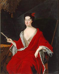 JOHAN STARBUS - Anna Leszczyńska, nee Jabłonowska, National Museum, Stockholm