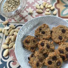Galletas sanas y deliciosas: platano y almendras Sin categoría - Mamás Viajeras