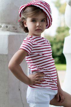 Sofia Fanta (born fashion child model from Russia. Pretty Kids, Beautiful Little Girls, Beautiful Children, Beautiful Babies, Cute Kids, Cute Babies, Young Fashion, Kids Fashion, Kid Poses