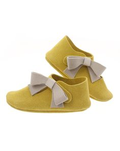 Suede Baby Booties - I'd like these in my size too please!